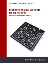 Book cover - Merging global address book records small