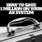 How to save 1 MILLION on your AX system
