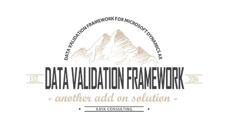 data validation framework