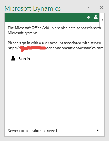 Microsoft Office Add-in authentication error