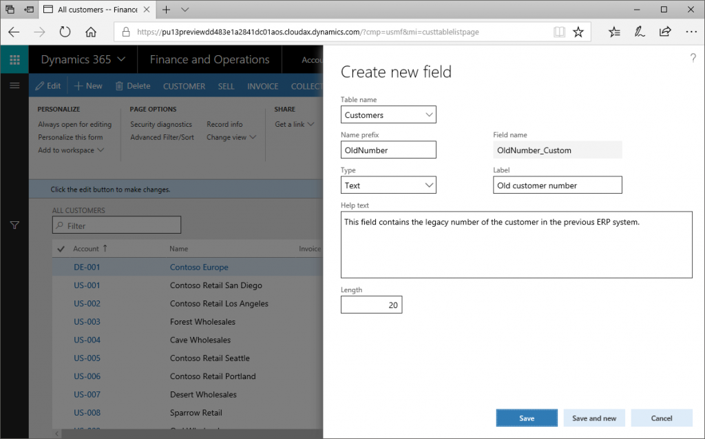 Custom fields: Handle with care (Microsoft Dynamics 365 for