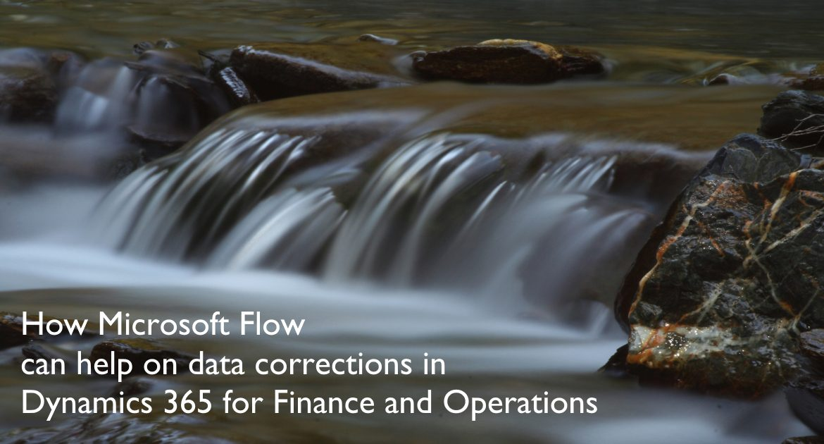 How Microsoft Flow can help on data corrections in Dynamics